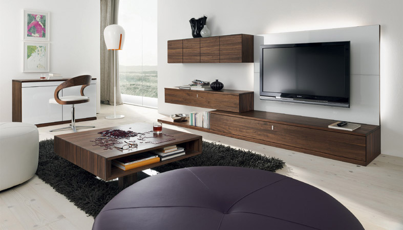 meuble tv team 7. Black Bedroom Furniture Sets. Home Design Ideas