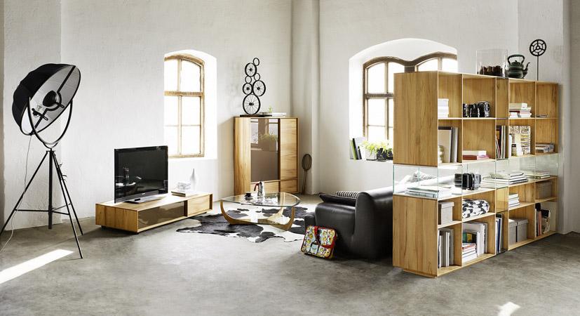 meuble tv team7. Black Bedroom Furniture Sets. Home Design Ideas