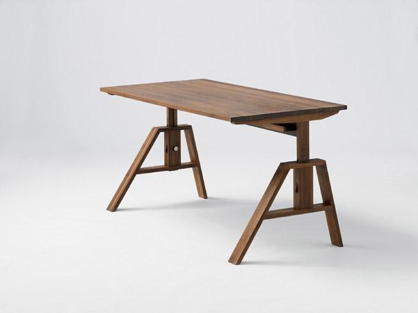 Bureau atelier ast r glable en hauteur meubles lagrange for Meubles lagrange