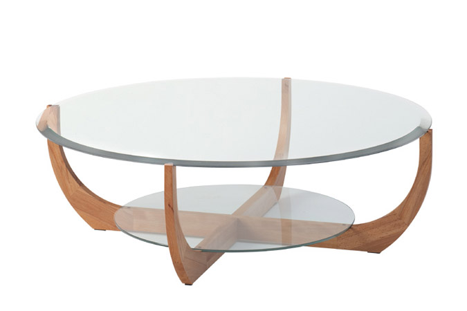 Salon de jardin table ronde en verre des id es int ressantes - Tables de salon en verre ...